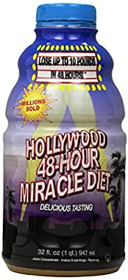 Hollywood 48-Hour Miracle Diet Bottles, 32 Fl. Oz (Pack of 2) by Hollywood Miracle Diet