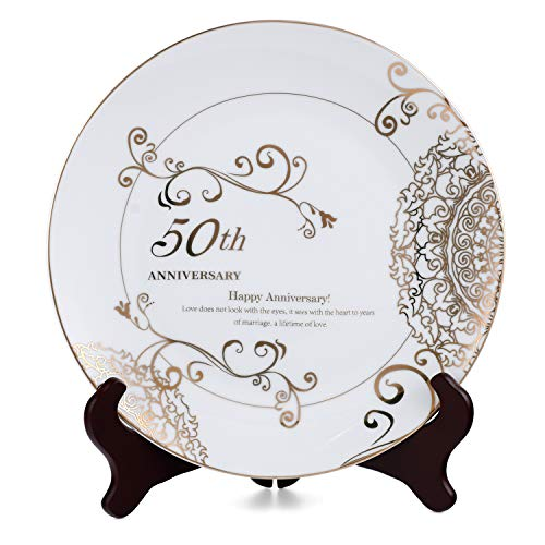 Anniversary Wedding Plate