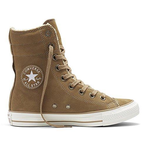 Converse Chuck Taylor All Star Hi Rise Boots Damen Wildleder Stiefel Dune/Sand (beige), Größe:42.5