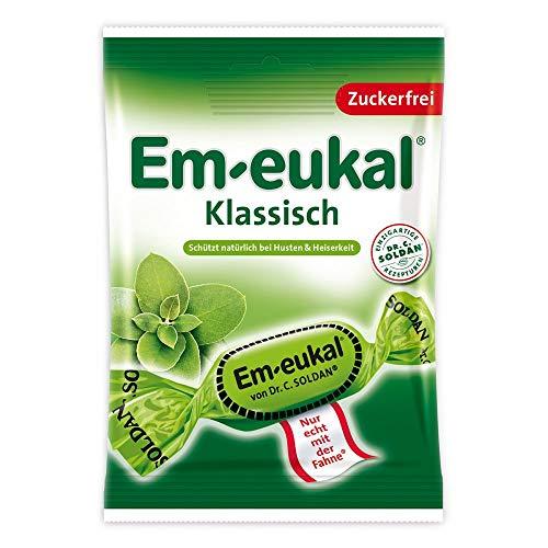 Em-eukal Klassisch zuckerfrei, 75 g Bonbons