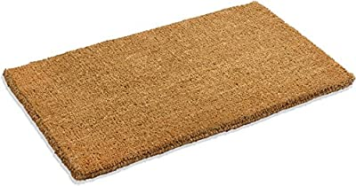 """Kempf Natural Coco Coir Doormat, 22-inch by 36-inch, 1"""" Thick Low"""