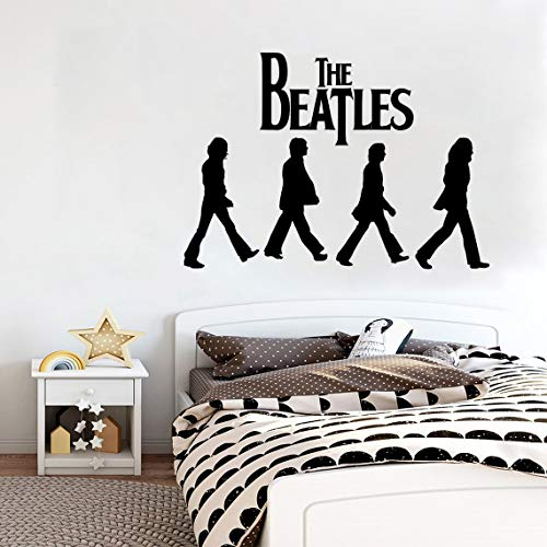 Pegatina The Beatles Hip Hop Rap Jazz Hard Rock Metal Pop Funk Pegatina Para El Hogar Decoracion Del Dormitorio Tatuajes De Pared Habitacion Arte Regalo