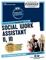 Social Work Assistant II, III (Career Examination)