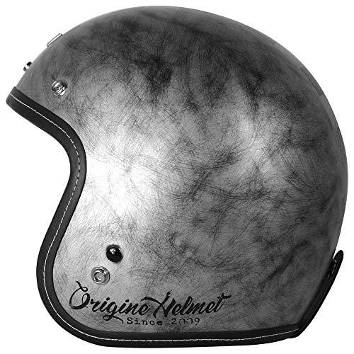 Origine helmets, Origine Primo Scacco, Motorradhelm L silber