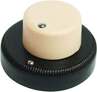 Danelectro Concentric Stack Knob Cream Top/Brown Bottom Allparts PK-3161-000