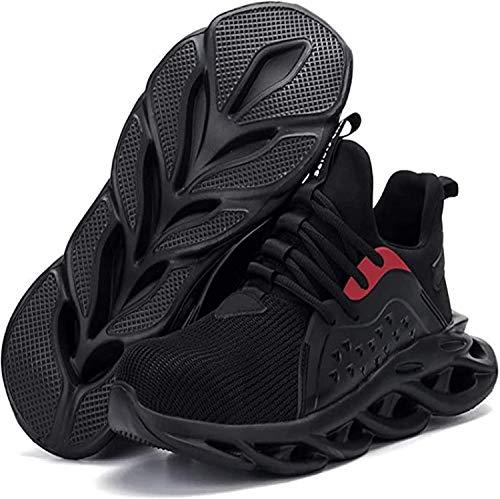 LBHH Zapatos de Trabajo Botas de Seguridad Zapatos de Seguridad Calzado de Seguridad Resistente al Desgaste,Calzado de Trabajo Anti-Rotura y antiperforación