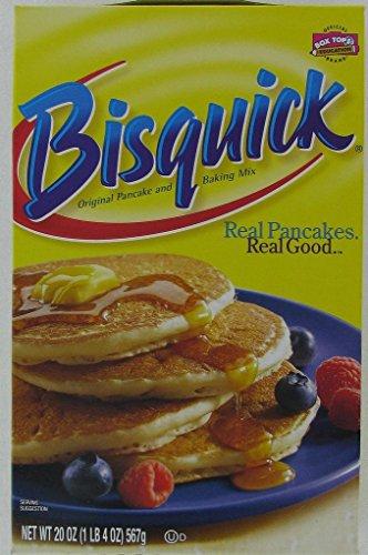 Bisquick Pancake and Baking Mix, Original 20 oz (Pack of 12)