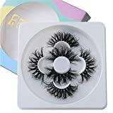 Lashes 25mm Mink Lashes 3 Different Styles Dramatic Real Mink False Eyelashes BEFACL