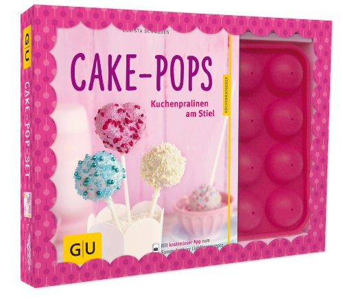 GU Gräfe und Unzer KüchenRatgeber Cake-Pop-Set + Silikonbackform Backbuch backen 8788: Plus Cake-Pop-Backform (für 16 Cake-Pops) (GU BuchPlus)