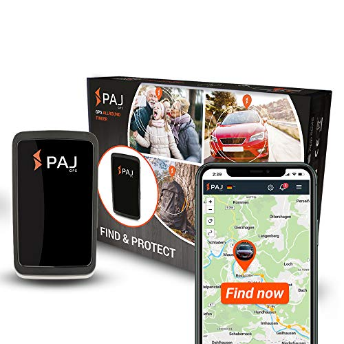 PAJ GPS Allround Finder Version 2020 - GPS Tracker avec 20 Jours...