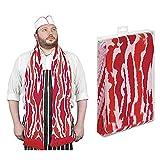 "71"" Soft-Knit Acrylic Bacon Scarf"