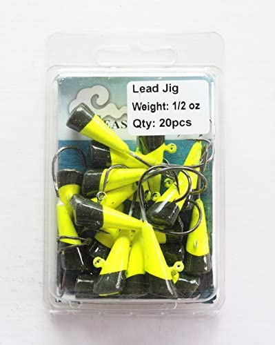 1//8 oz Shad Darts MonoFlash Tails 9 pack with Volume Pricing