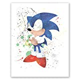 PGbureau Super Sonic Adventure Igel Poster - Decor