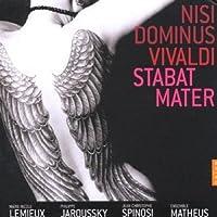 Vivaldi - Nisi Dominus & Stabat Mater / Lemieux, Jaroussky, Ensemble Matheus, Spinosi (2008-03-31)