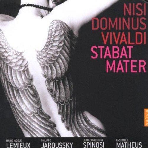 Vivaldi - Nisi Dominus & Stabat Mater / Lemieux, Jaroussky, Ensemble Matheus, Spinosi by Naive (2008-03-31)