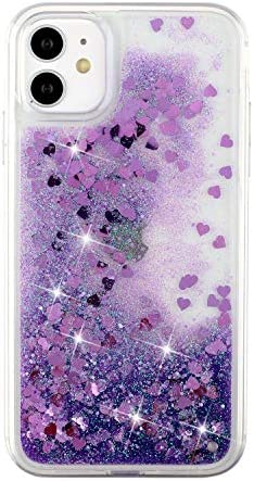 Topwin Liquid Floating Case for iPhone 12 Pro Max 6 7 Quicksand Flowing Bling Glitter Sparkle product image