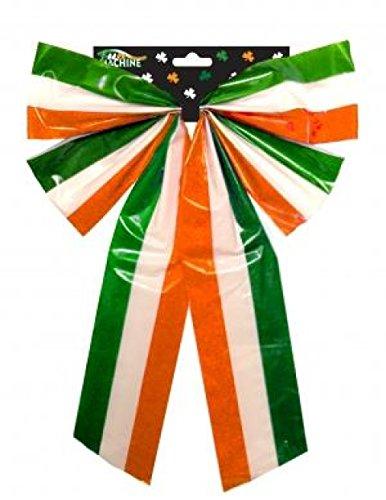 Taille L Tri couleur PE Bow St Patricks Day Irlandais Accessoire Déguisement