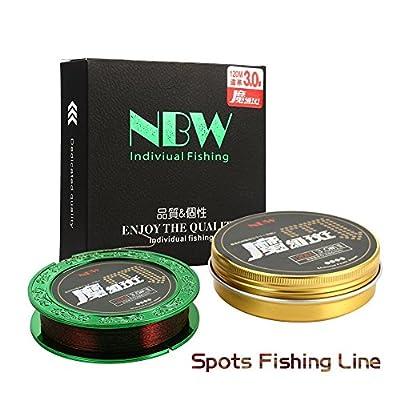 Mounchain Spots Fishing Line, 120M by Mounchain
