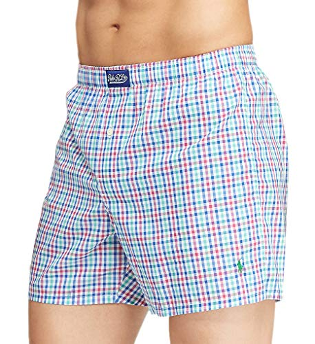 Polo Ralph Lauren Herren Boxershorts 100% Baumwolle - - Large