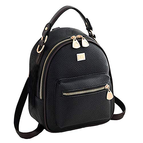 Shoulder Bag Cute for Girls Mini Leather Travel Backpack Purse zhongningyifeng Backpack for Women Small