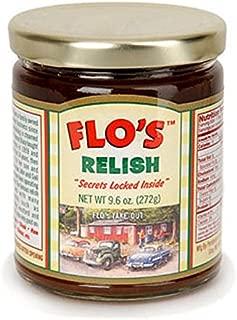 Flo's Hot Dog Relish - Original Homemade Secret Recipe - 9.6 oz