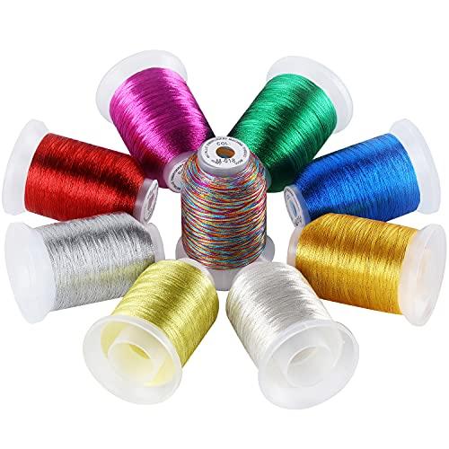 Hilo Metalico  marca New brothread
