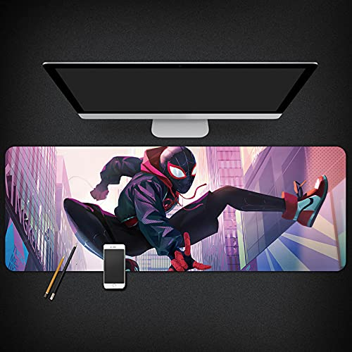 The Amazing Spider-Man Peripheral Computer Notebook Marvel Hero Tapete de Mesa Alfombrilla de ratón Gruesa de Gran tamaño-Package05||900x400x3mm