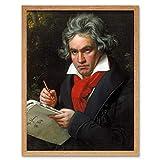 Wee Blue Coo Stieler Composer Ludwig Van Beethoven Art