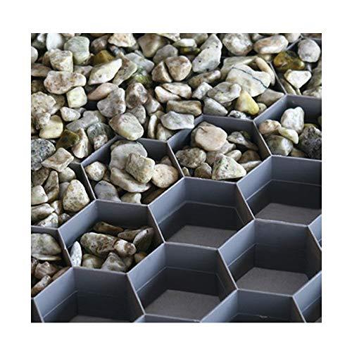 Hamann Kies-Stabilisierungsplatten begehbar - dauerhafte und stabile Splitt/Kies-Oberfläche