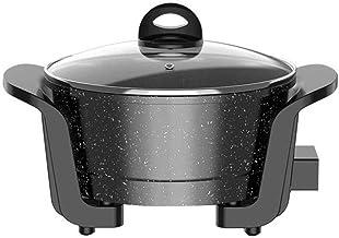JSMY Pot Chaud électrique Multifonctionnel Domestique Wok électrique Pot Chaud électrique dortoir Domestique Pot intégré m...