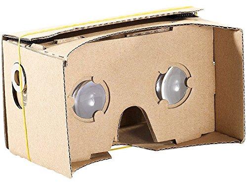PEARL VR Brille Smartphone: Virtual-Reality-Brille VRB50.3D, Bausatz für Smartphones (4