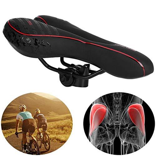 Shipenophy Mountain Road Bicicletas resistente al desgaste durable cómodo equipo de ciclismo accesorio para montar en sendero para acampar (asiento de bicicleta)