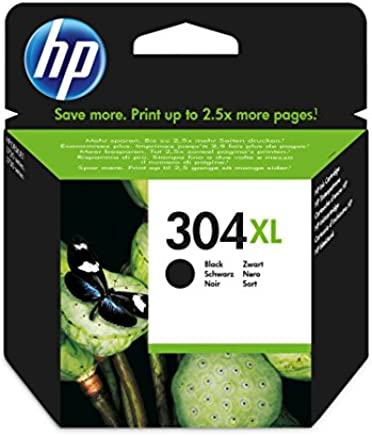HP 304XL N9K08AE pack de 1, haut rendement, cartouche d'origine, noir