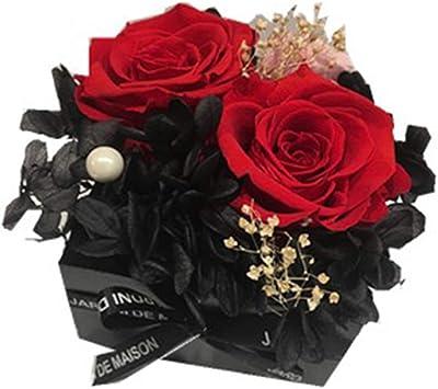 永遠の花の装飾デコレーションギフトドライフラワーローズカーホームリビングルームベッドルームフェスティバル母の日バレンタインの日,紫色