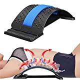Bcway Back Stretcher, Multi-Level Lumbar Back Device for Upper and Lower Pain Relief,Herniated Disc,Sciatica, Scoliosis ,spine deck on Bed Chair Car…