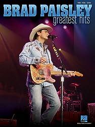 Brad Paisley Greatest Hits: Piano-Vocal-Guitar