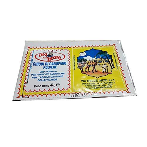 CHIODI DI GAROFANO IN POLVERE peso 4 gr 3 bustine(12 gr)VIA DELLE INDIE