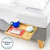 BedShelfie The Original Bedside Shelf - 9 Colors / 4 Sizes - AS SEEN ON Business Insider (Slide, Natural)