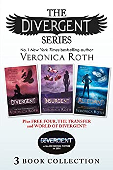 Divergent Series (Books 1-3) Plus Free Four, The Transfer and World of Divergent (Divergent) by [Veronica Roth]