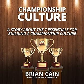Pillar #2: Championship Culture audiobook cover art