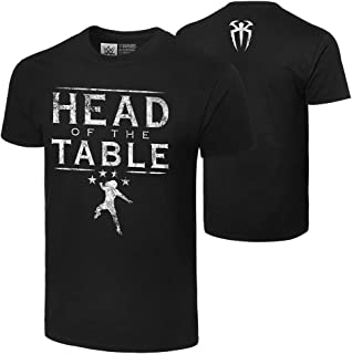 WWE Roman Reigns Head of The Table Authentic T-Shirt