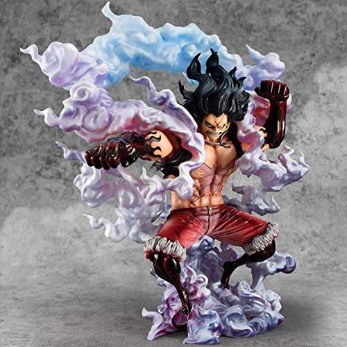 Megahouse One Piece Pop Sailor Again Maximum Luffy Gear 4Th Snakeman