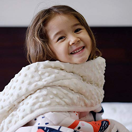 ZonLi Kids Weighted Blanket for Winter (7 lbs, 41