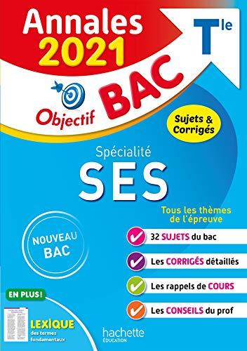 Annales Bac 2021 Spé SES Term