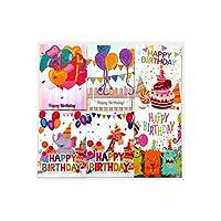 メッセージカード 5DDIY絵画クリスマスカードハロウィーンクリスマス誕生日グリーティングカード封筒とツール付きアートクラフト手作りギフト 子供 誕生日 新年 (Size:18 X 13cm; Color:10)