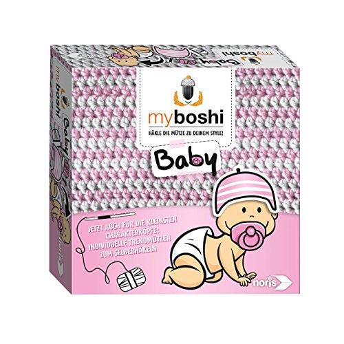 Noris 606311256 - Myboshi Baby, Häkel-Set - Hamamatsu/Iwaki