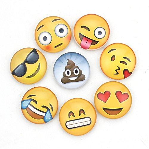 WARMBUY Emoji Fridge Magnets Set of 8