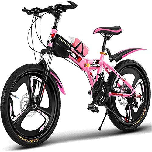 Bicicleta para niños 20'Bicicleta al Aire Libre para niños, para 9-14 años, niños y niñas, niños, niñas, Bicicleta de montaña, Azul, Bicicleta, Rosa.