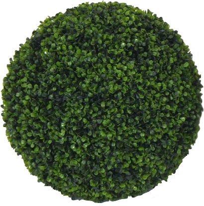 Bosso – Boule artificielle pour usage extérieur – Résistant aux rayons U.V. – Ø 47 – 50 cm