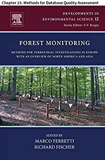 Forest Monitoring: Chapter 23. Methods for Database Quality Assessment (Developments in Environmental Science Book 12)